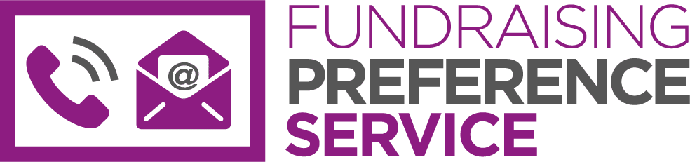 fundraising preference service logo