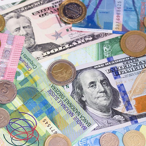 Foreign Currency - Notes and Coins