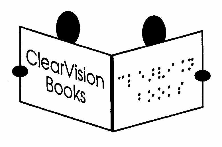 ClearVision Logo Books logo