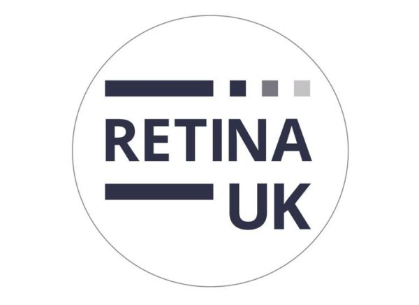 A round image with 'Retina UK' printed in the centre