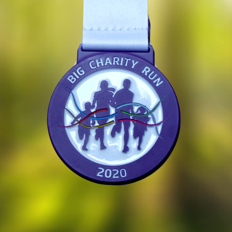 The Big Charity Run medal